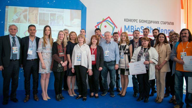 6 біомедичних стартапів стали переможцями конкурсу MBioS Challenge