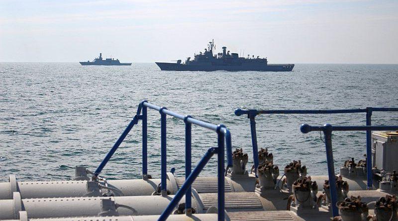 Кораблі ВМС ЗСУ та Турецької Республіки провели спільне тренування типу PASSEX (фото)