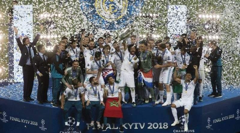 Петро Порошенко привітав Real Madrid C.F. з перемогою у Лізі Чемпіонів УЄФА 2018 (фото)