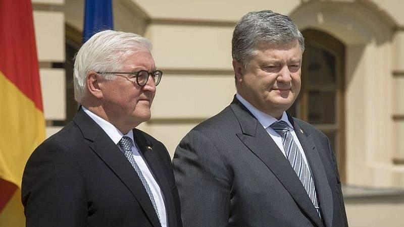 Президент України зустрівся з Президентом ФРН (фото, відео)