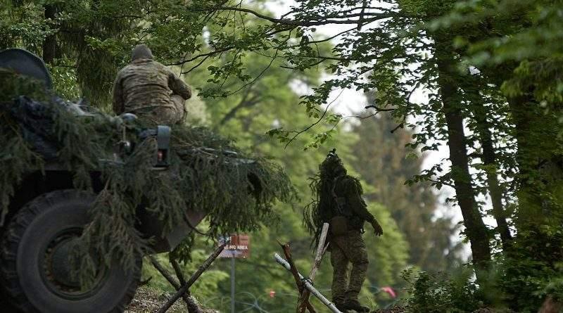 Combined Resolve X: дії українських військових в обороні (фото, відео)