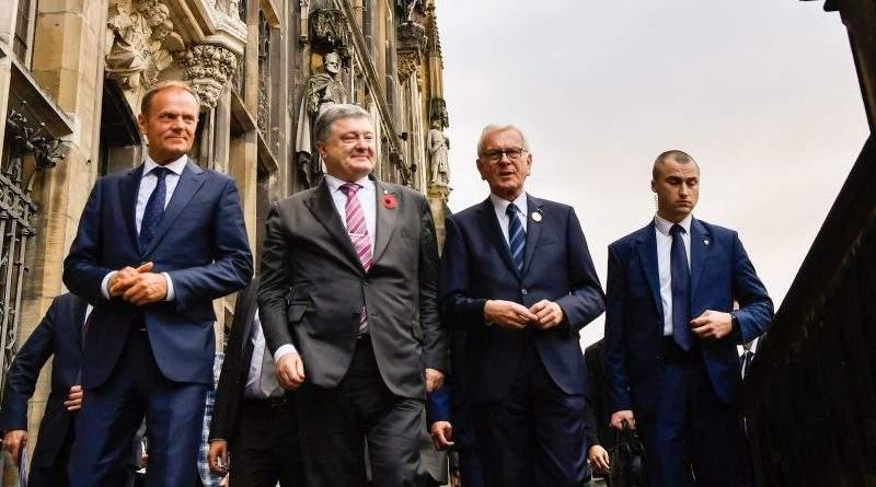 Президент у Німеччині провів переговори з Дональдом Туском (фото, відео)