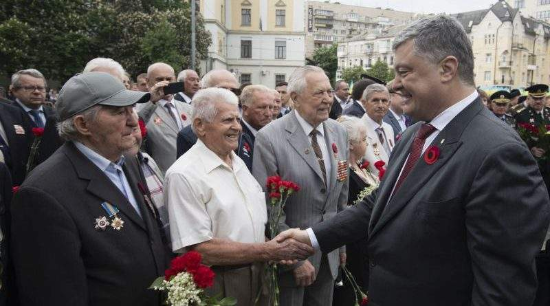Президент вшанував пам'ять загиблих у Другій світовій війні (фото)