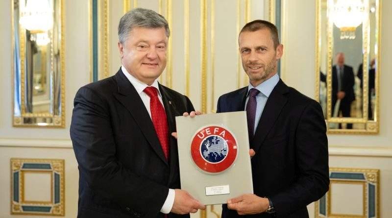 Президент України провів зустріч з Президентом УЄФА (фото)