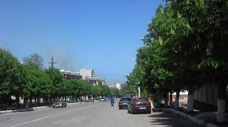 Тривають заходи локалізації пожежі на території колишнього арсеналу в Балаклеї