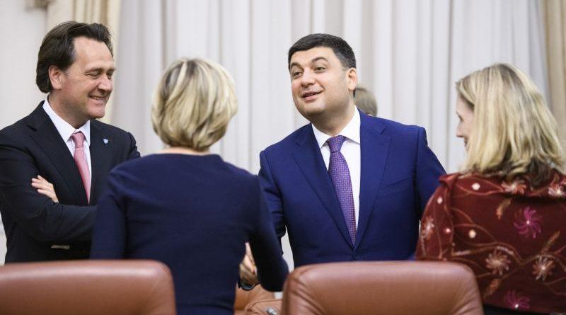 Володимир Гройсман зустрівся з делегацією Групи Світового банку (фото)