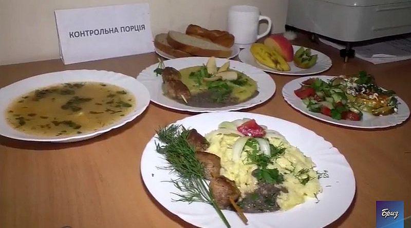 Харчування військовослужбовців окремого полку зв'язку ВМС ЗС України за новим Каталогом продуктів (відео)