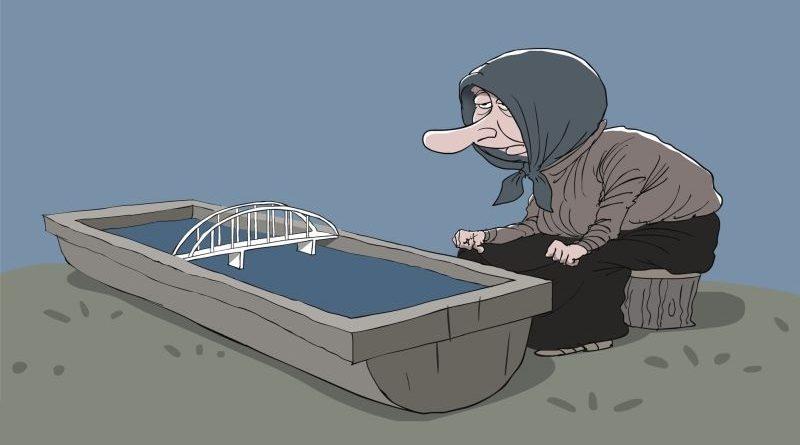 Построив мост, орда вырыла себе яму
