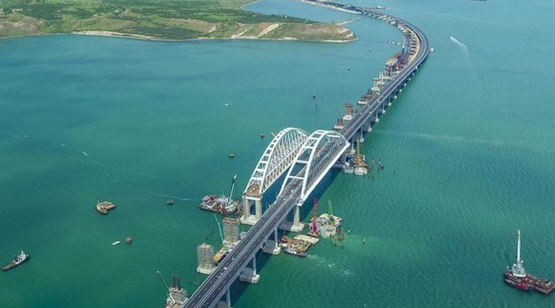 Будівництво мосту через Керченську протоку є порушенням норм національного та міжнародного права