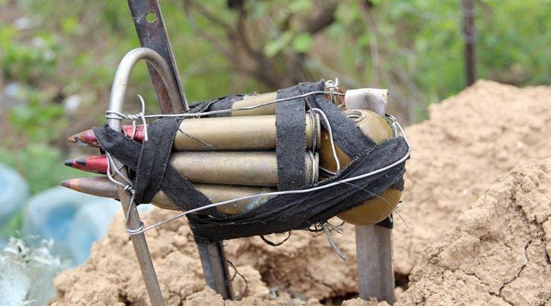Російсько-терористичні війська на Донбасі застосовують підступні зразки озброєння (фото)