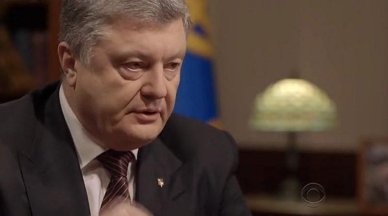 Петро Порошенко надав інтерв'ю телеканалу CBS News (відео)