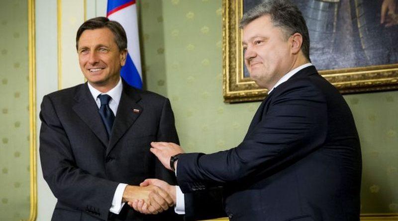 11 травня в Києві Президент України Петро Порошенко проведе зустріч із Президентом Словенії Борутом Пахором