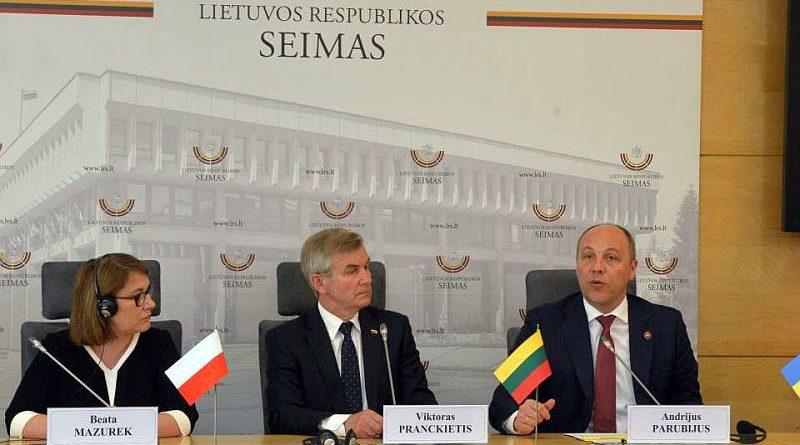 Андрій Парубій взяв участь в урочистостях з нагоди річниці Конституції Литви у Вільнюсі (фото, відео)