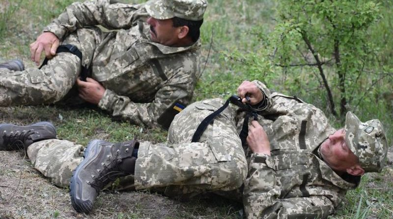 На Житомирщині резервісти ДШВ ЗС України навчаються протидіяти танкам умовного противника (фото)