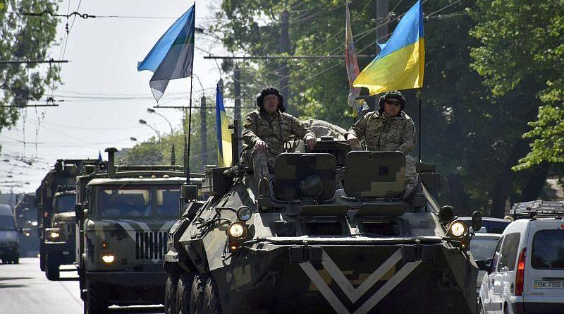 До Рівного із району проведення АТО повернулися військовослужбовці гарнізону (фото)