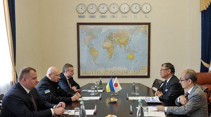 Секретар РНБОУ Олександр Турчинов провів зустріч з Послом Японії в Україні Шігекі Сумі (фото)