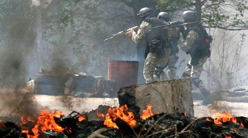 Блискуча перемога українських військових під Семенівкою 5 травня 2014 року (відео)