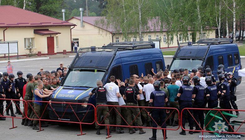 Правоохоронці Києва відпрацювали алгоритм охорони правопорядку під час проведення  фінальних матчів Ліги Чемпіонів