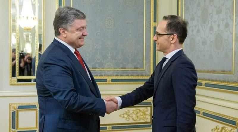 Президент України зустрівся з Міністром закордонних справ Німеччини (фото)