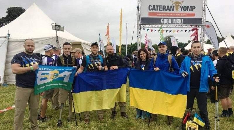 Українські десантники здобули «золото» «The Cateran Yomp 2018» у Великій Британії  (фото, відео)