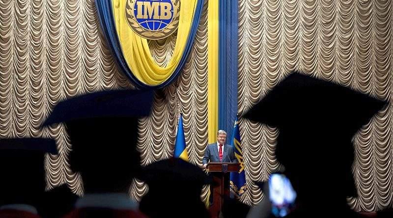 Президент взяв участь в урочистостях з нагоди випуску магістрів ІМВ КНУ імені Тараса Шевченка (фото, відео)