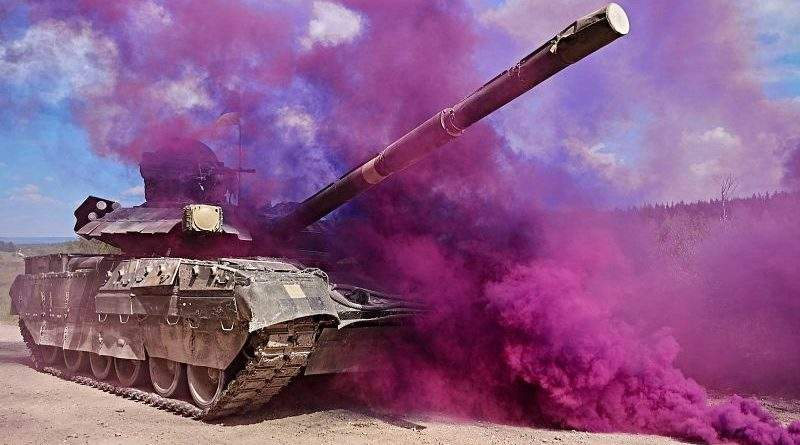 Strong Europe Tank Challenge 2018: День 4-й: виклик вогню артилерії, швидкісне водіння, медевакуація та хімзахист (фото, відео, блог)