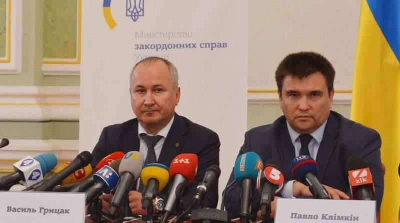 Спільний брифінг голови СБУ та міністра МЗС щодо злочинів РФ на тимчасово окупованих територіях (фото, відео)