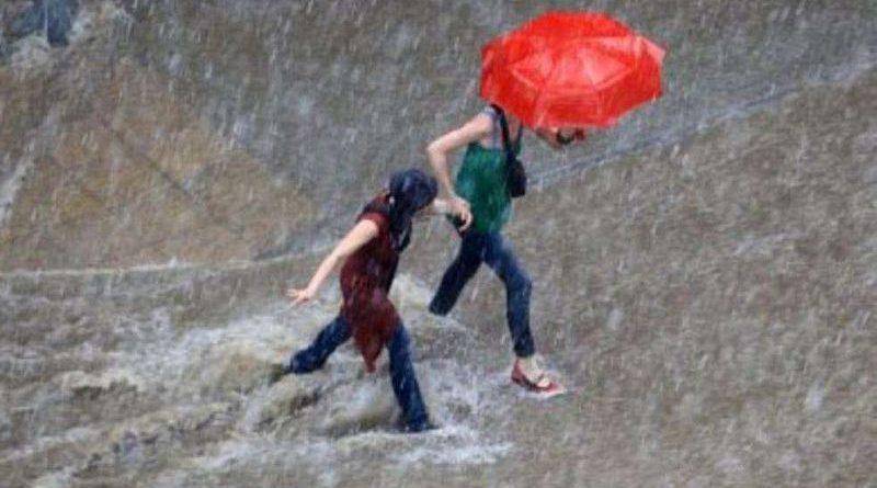УВАГА! Попередження про грози, сильні зливи, град та шквали