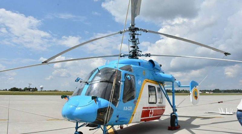 Львівська ОДА передала ВМС ЗСУ новий вертоліт Ка-226 (фото, відео)