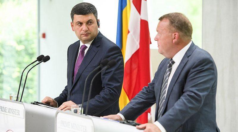 Володимир Гройсман перебуває з робочим візитом у Данії (фото)