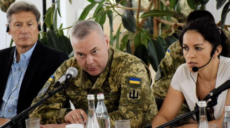 Командувач ОС Сергій Наєв зустрівся з делегацією політико-безпекового комітету ЄС (фото)