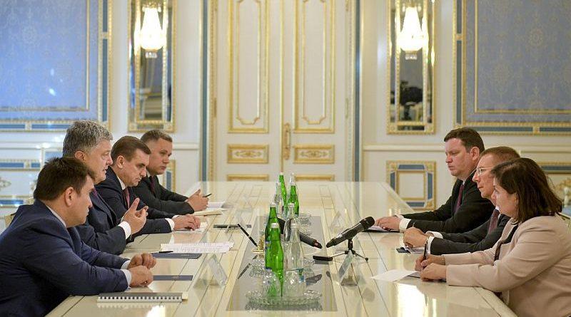 Президент України прийняв Міністра закордонних справ Латвії