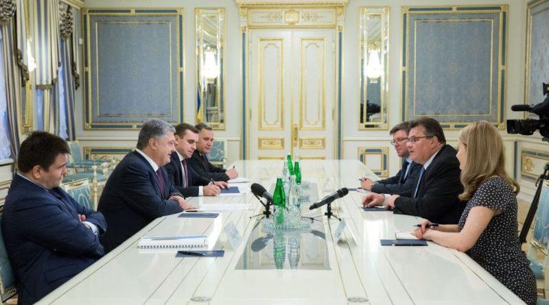 Президент України прийняв Міністра закордонних справ Литви