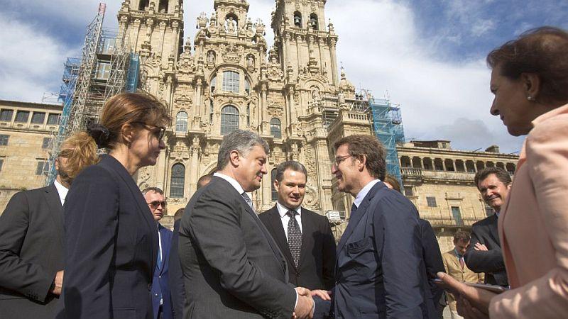 Розпочався офіційний візит Президента України до Королівства Іспанія. Зустріч із Головою Уряду Галісії
