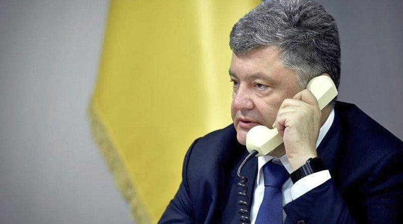 Президент України провів телефонну розмову з Президентом Росії