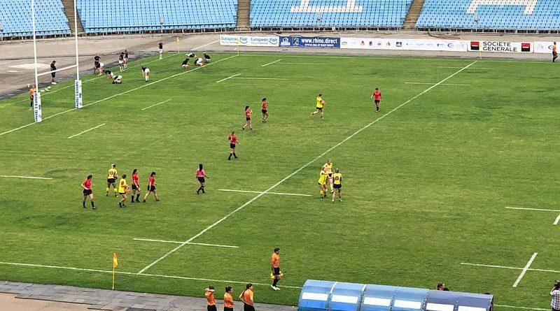 В Дніпрі на спортивній арені «Метеор» розпочався чемпіонат Європи з регбі-7 серед жіночих команд (фото, відео)