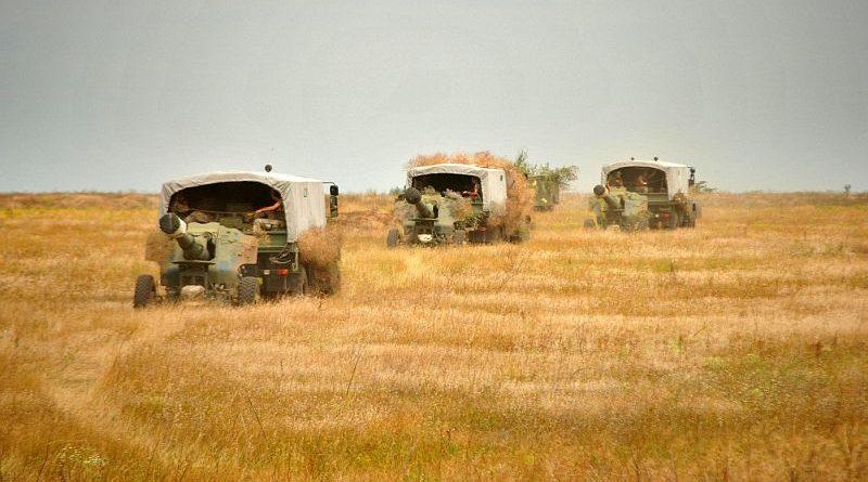 Брифінг щодо функціонування Тарутинського військового полігону (відео)