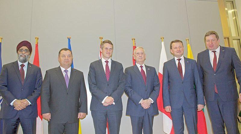 У Штаб-квартирі НАТО відбулася зустріч Міністрів оборони України, США, Великої Британії, Канади, Литви та Польщі