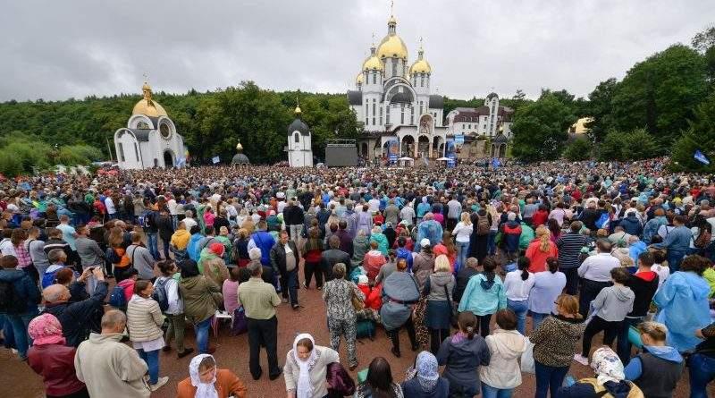 Виступ Президента на зустрічі з учасниками загальноукраїнської прощі у Зарваниці (фото, відео)