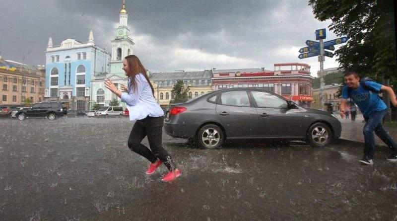 Увага! Попередження про погіршення погодних умов