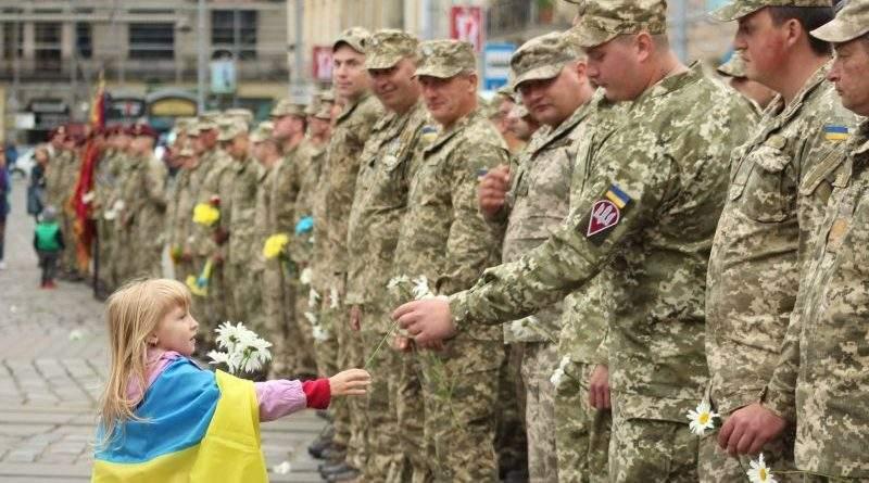 Львівщина зустріла 80-у ОДШБр ДШВ ЗСУ, яка повернулася з району ООС (фото, відео)
