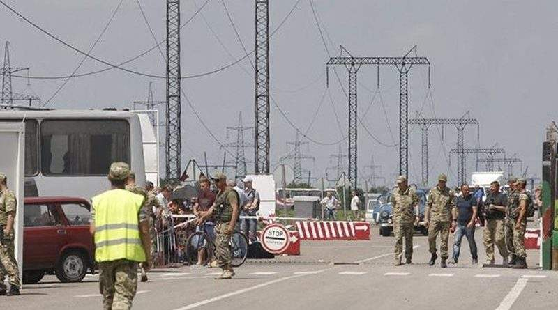 На КПВВ Мар'їнка поліцейські викрили урядника «Козацького союзу «ДНР»