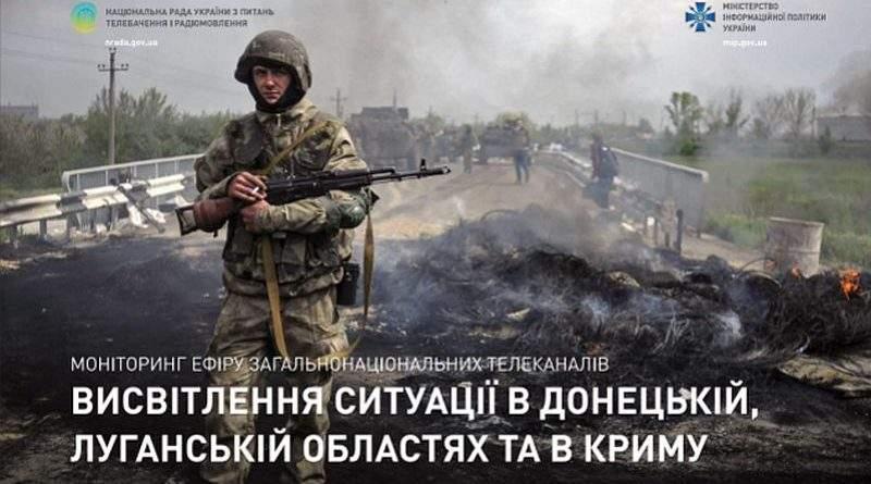 Результати моніторингу телеканалів щодо висвітлення ситуації на сході України та в Криму (фото, презентація)