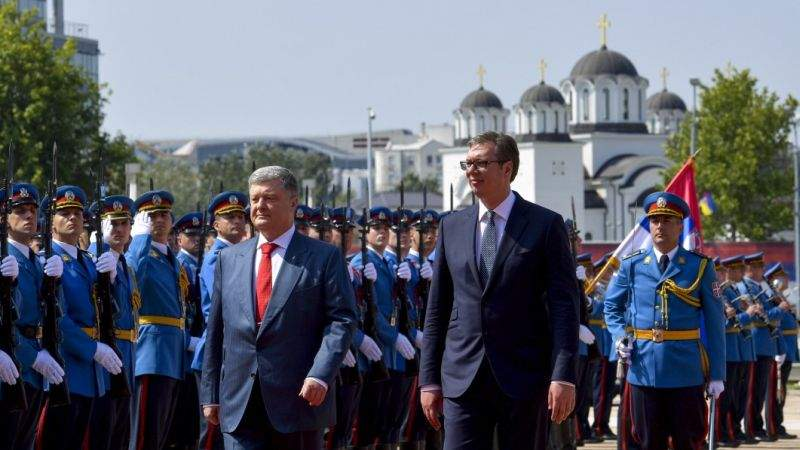Офіційний візит Президента України до Республіки Сербія (фото, відео)