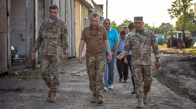 Проведено перевірку ходу будівництва гуртожитків 10-ї окремої гірсько-штурмової бригади (фото)