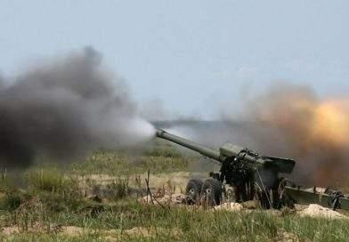 """Завершено випробування 152-мм снарядів для артилерійської системи """"Гіацинт"""" (відео)"""