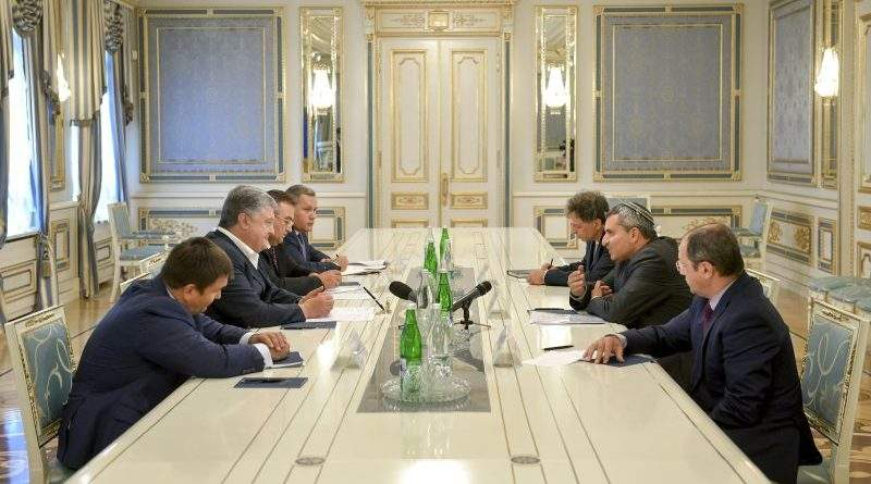 Президент України провів зустріч з Міністром з питань охорони навколишнього середовища Держави Ізраїль