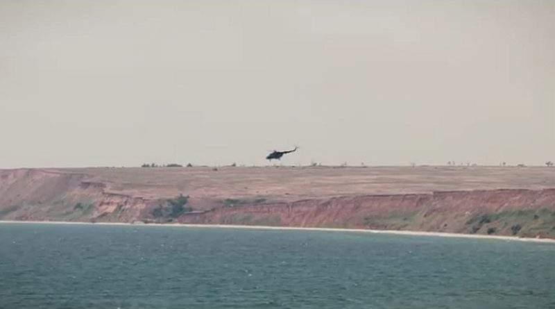 В районі проведення операції Об'єднаних сил пройшла перевірка авіаційної складової (відео)