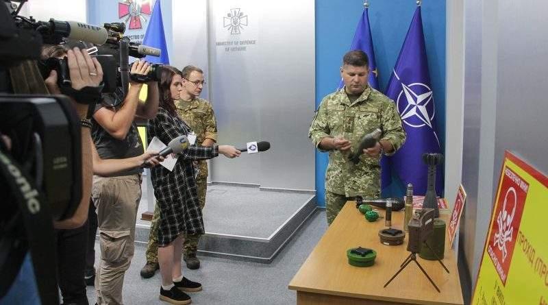 Брифінг щодо стану виконання заходів протимінної діяльності в Україні (фото, відео)