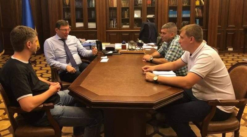 Юрій Луценко зустрівся із керівниками громадських організацій Євромайдану
